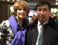 Nadya Reingand in Yakutsk